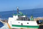 Motovedetta italiana speronata da peschereccio tunisino a Lampedusa: il video