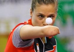 Ping pong, lo scambio infinito della campionessa paralimpica Un ritmo così è solo frutto di ore incessanti di allenamento - Dalla Rete