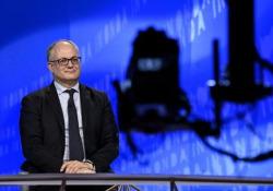 """Recovery fund, Gualtieri: """"Cogliere opportunità unica, serve un grande patto per l'Italia"""" La conferenza del Pd - Agenzia Vista/Alexander Jakhnagiev"""