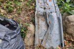 Lamezia, rifiuti abbandonati nella Valle dei Trappiti a San Pietro a Maida