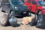 Vibo, 70 tonnellate di spazzatura ammassate davanti alle abitazioni