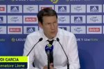 "Lione, Garcia: ""A Bordeaux due punti persi"""
