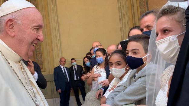 coronavirus, matrimonio, Papa Francesco, Sicilia, Cronaca