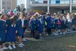 Scuola al via a Cosenza, il sindaco Occhiuto incoraggia i giovani studenti