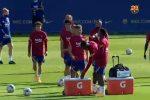 L'Italia li aspetta, ma Suarez e Vidal si allenano con il Barça