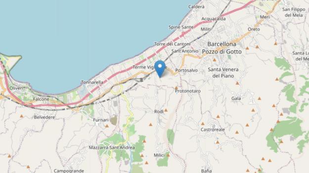 terme vigliatore, terremoto, Messina, Sicilia, Cronaca