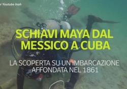 Trovato il relitto di una nave che trasportava schiavi maya dal Messico a Cuba: le immagini al largo dello Yucatan La scoperta su un'imbarcazione affondata nel 1861 - Ansa