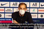 """Tuchel: """"Neymar? Meglio che non dica cosa penso. Su Paredes..."""""""