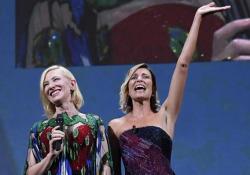 Venezia 2020, la cerimonia di chiusura della 77esima edizione della Mostra del Cinema A presentare la serata la madrina Anna Foglietta - Ansa