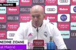 "Zidane: ""Bale? Gli auguro ogni bene"""