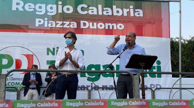 Giuseppe Falcomatà, Nicola Zingaretti, Reggio, Calabria, Politica