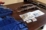 Taurianova, controlli dopo l'arresto di Zagari: trovate armi da guerra