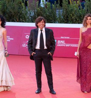 Festival del cinema di Roma, lo stilista lametino Anton Giulio Grande sul red carpet