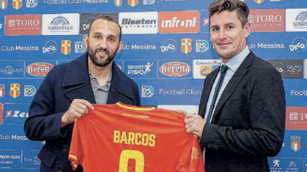 fc messina, Hernan Barcos, Messina, Sicilia, Sport