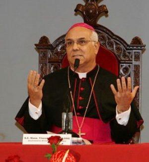 L'arcivescovo di Catanzaro-Squillace, monsignor Vincenzo Bertolone