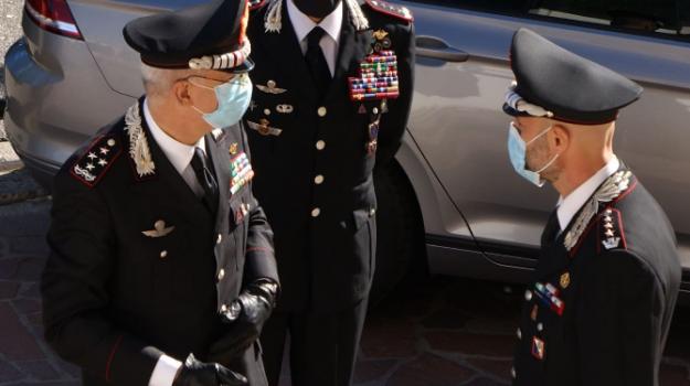 Il Comandante Generale dei Carabinieri visita il Comando Provinciale di Cosenza