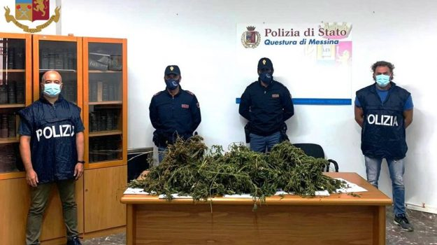 droga, Messina, Sicilia, Cronaca