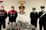 Sorpresi con oltre 10 chili di marijuana a Palmi, arrestati due uomini di Bagnara