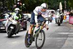 L'iridato Fillipo Ganna prima maglia rosa del Giro d'Italia: vinta la crono a Palermo