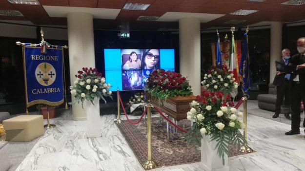 cittadella, funerale, Jole Santelli, Catanzaro, Calabria, Cronaca