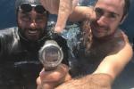 A Soverato l'impresa record di Homar Leuci: senza pinne a 100 metri di profondità