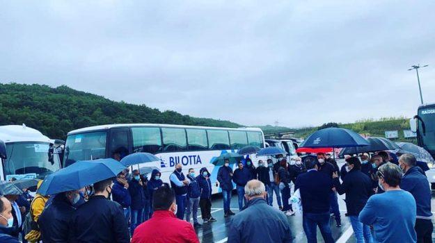 Ncc, protesta, Catanzaro, Calabria, Cronaca