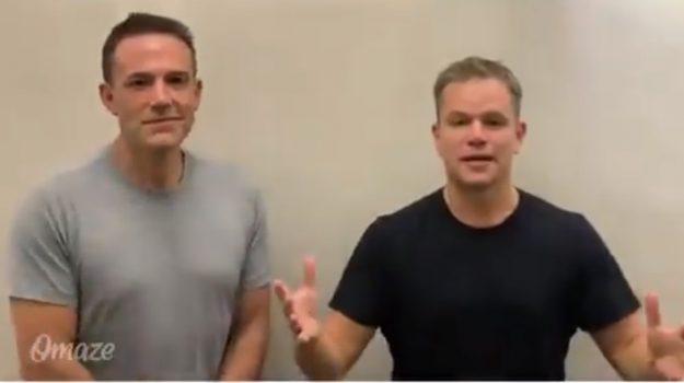 Ben Affleck, Matt Damon, Sicilia, Società