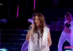 Carolina Rey è «Tale e quale» a Gaia La conduttrice vince la 100esima puntata dello show di Rai 1 - Ansa