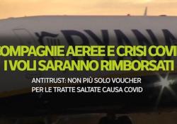 Compagnie aeree e crisi Covid, i voli saranno rimborsati Antitrust: Non più solo voucher per le tratte saltate causa Covid - Ansa