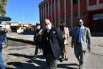 Crotone, l'assessore regionale De Caprio in visita nelle aree inquinate da bonificare