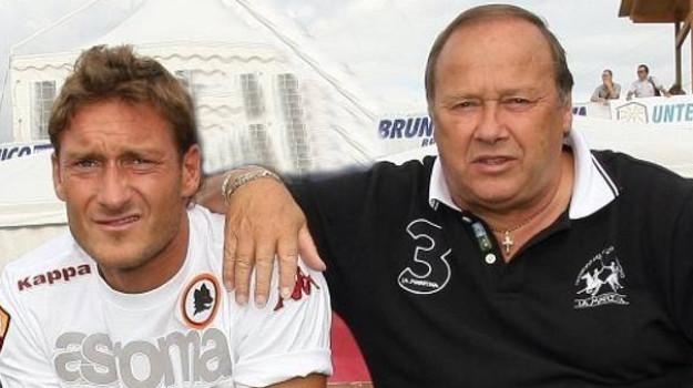 calcio, funerale, Enzo Totti, Francesco Totti, Sicilia, Sport