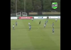 Giappone, segna con un pallonetto da centrocampo Segnare un gol così è frutto di talento e precisione - Dalla Rete