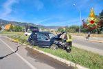 Incidente a Lamezia Terme, un ferito nello scontro tra due auto