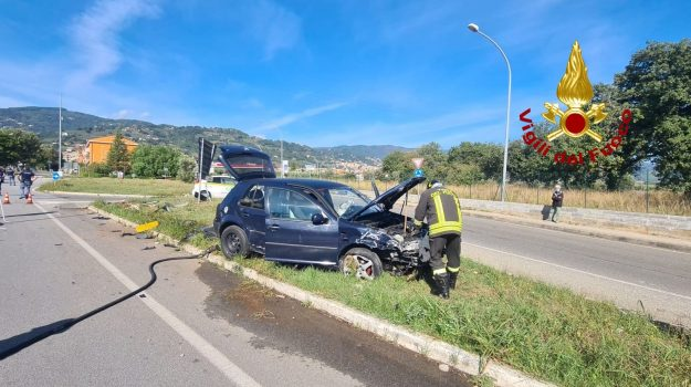 incidente, lamezia terme, Catanzaro, Calabria, Cronaca