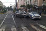 L'incidente in viale San Martino