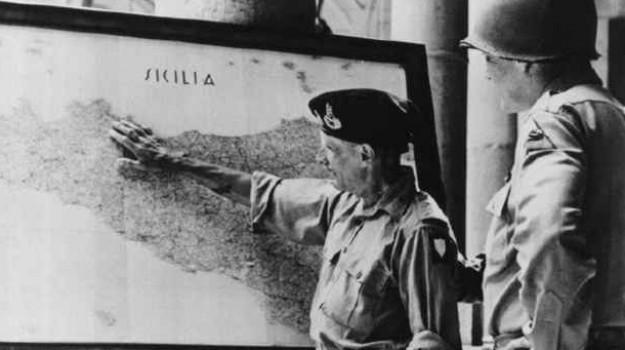 Montgomery e Patton discutono l'operazione in Sicilia