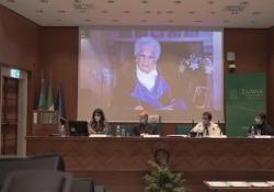 Liliana Segre riceve la laurea magistrale honoris causa alla Lumsa La consegna - virtuale - durante la cerimonia per il nuovo anno accademico - Ansa