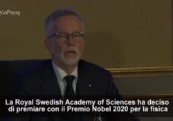 Nobel per la Fisica 2020 a Penrose, Ghez e Genzel Premi alle scoperte sui buchi neri - LaPresse/AP