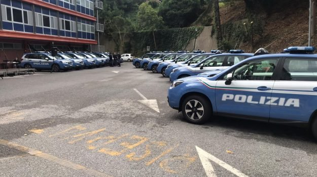 cas, polizia stradale, Messina, Sicilia, Cronaca