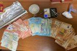 Pusher in manette a Messina, sequestro di cocaina e crack
