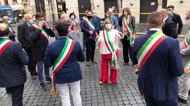 delegazione, senato, sindaci, Cosenza, Calabria, Politica