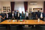 Crotone, visita in questura del neo sindaco Vincenzo Voce