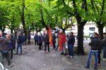 Bisignano, sit-in dei dipendenti e marcia degli ambientalisti su chiusura del depuratore