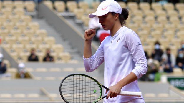roland garros, tennis, Iga Swiatek, Sicilia, Sport
