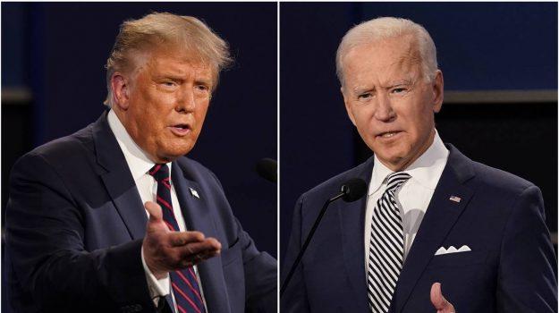 dibattito, elezioni presidenziali, usa, Donald Trump, Joe Biden, Sicilia, Mondo