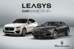 Una Maserati in abbonamento mensile con Leasys CarCloud Collection