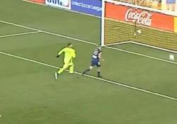 Usa, segna con lo «scorpione» sul rinvio del portiere Oltre che un gran gol quello di Danny Barrera è anche un colpo di astuzia - Dalla Rete