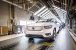 Volvo avvia produzione XC40 Recharge a trazione solo elettrica