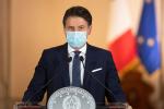 """Conte: """"Se trend continua stop zone rosse"""". Sulla Calabria: """"Arriva il commissario"""""""