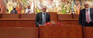 Il presidente del Consiglio regionale della Calabria, Domenico Tallini